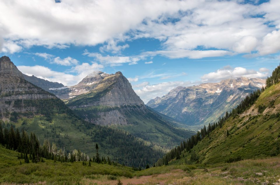 Visiting Glacier national park